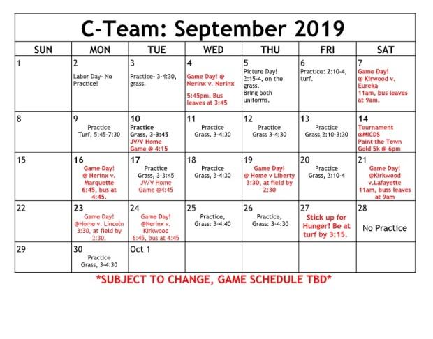 C-Team Sept